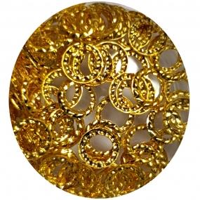 Joyería Circulos Dorados